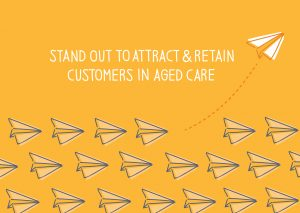 Aged Care Marketing Post Card Front